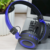 Over ear bass stereo headphone handsfree wireless headset with mic microphone