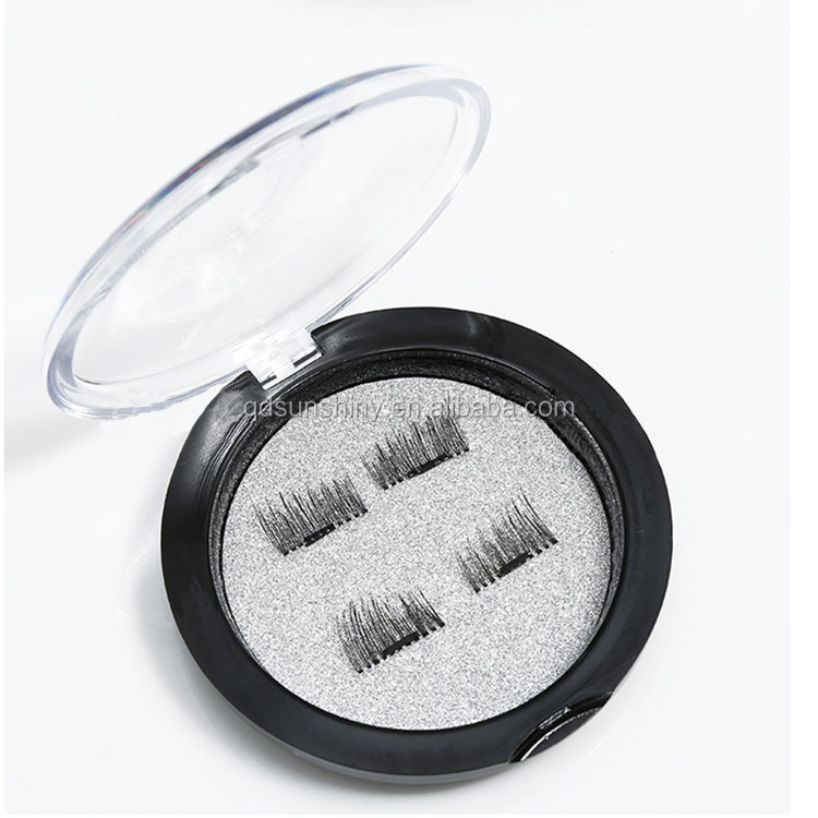 2017 High Quality New Natural mink 3D Eyelashes False Lashes with Magnetic