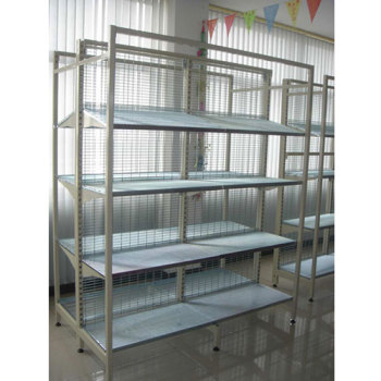 high quality AU41 outrigger shelving rack for liquid products