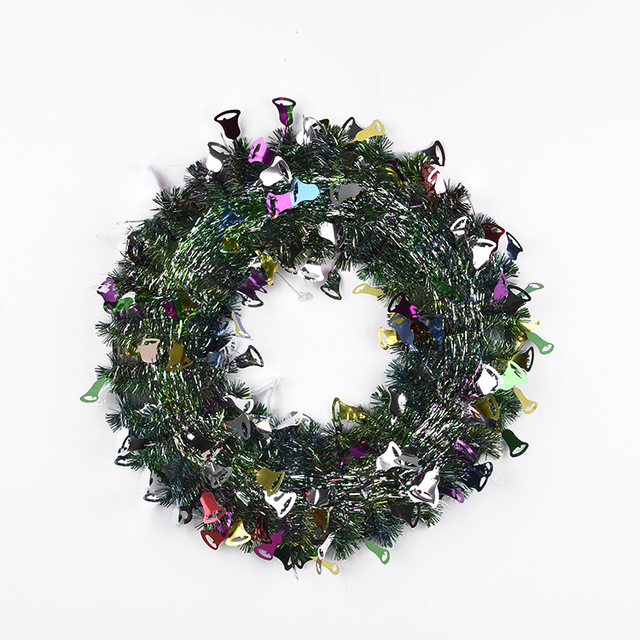 huandi wholesale custom christmas supplies multi color christmas wreath decoration - Wholesale Christmas Decorations Suppliers