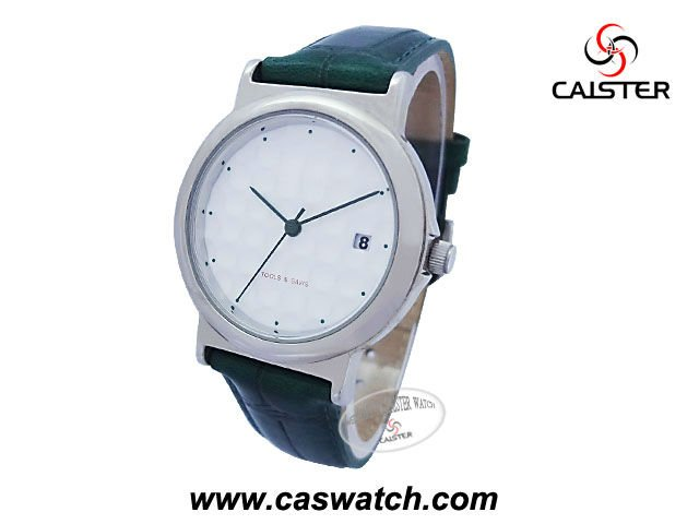 Special customized face of golf ball dial watch leather band ladies watch Japan quartz movement watch