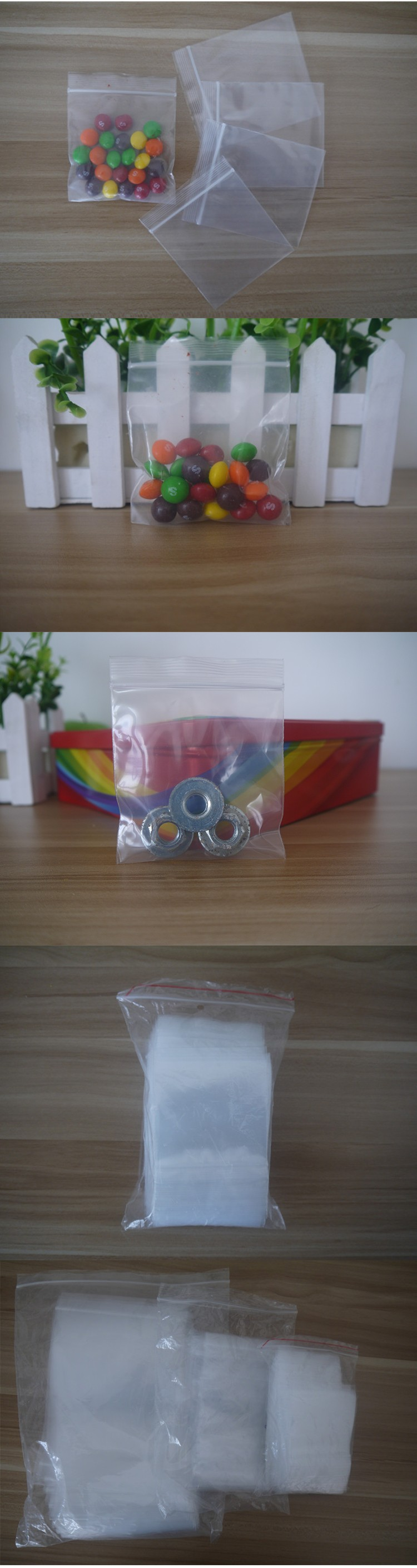 "Cheap price 2"" x 2"" Small Clear Poly Plastic Grip Seal Bags zip lock bag hot sales in UK market"