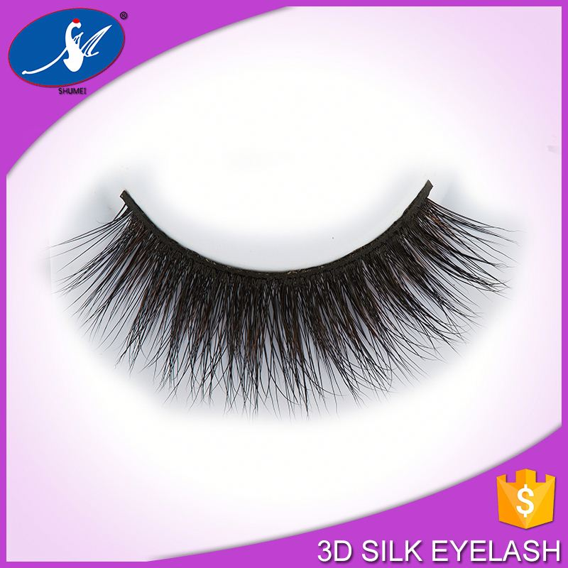 Finelly Processed 3D Silk Strip Lash Eyelash Glue Supplied