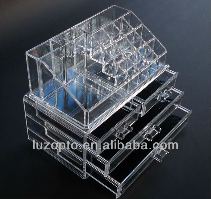 Clear Acrylic Makeup Storage Organizer