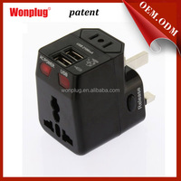 Wonplug patent 5v 2.1a usb personalized elegant 10 year business anniversary gifts