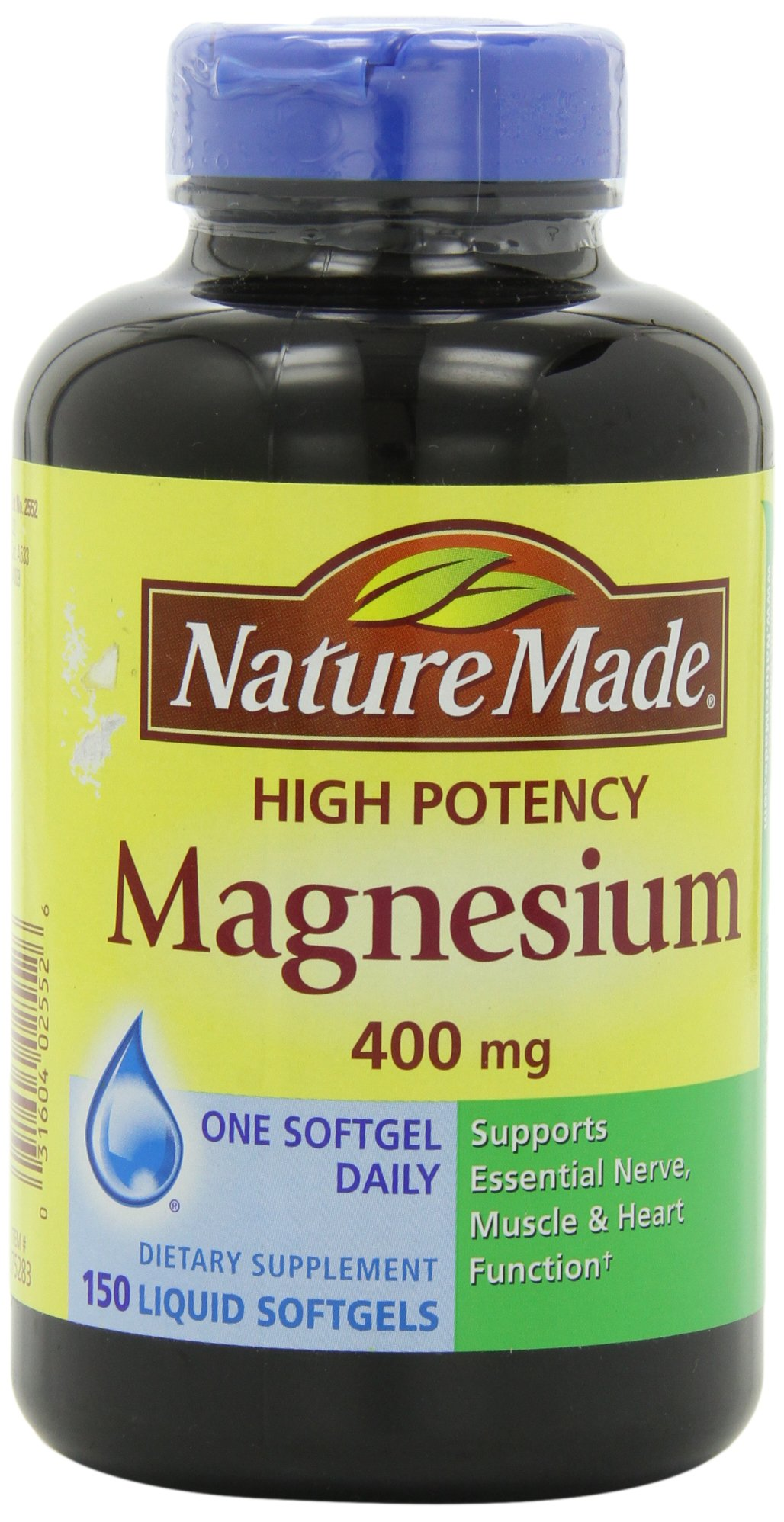 Cheap Magnesium Softgels Find Deals On Line At Puritans Pride Calcium Citrate Plus Vitamin D 100 Capsules Get Quotations Nature Made High Potency 400 Mg 150 Liquid