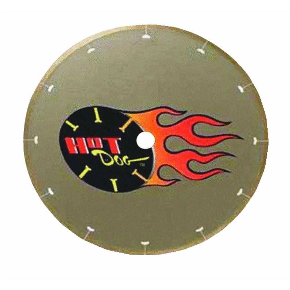 "MK Diamond 158434 7"" MK-225 Hot Dog Premium Thin-Rim Blade"
