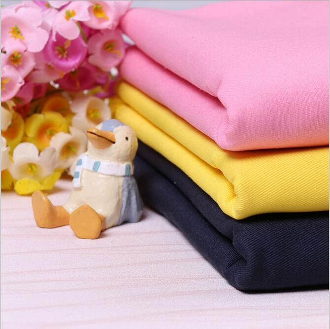 190gsm 100% cotton single yarn drill twill garment fabric price