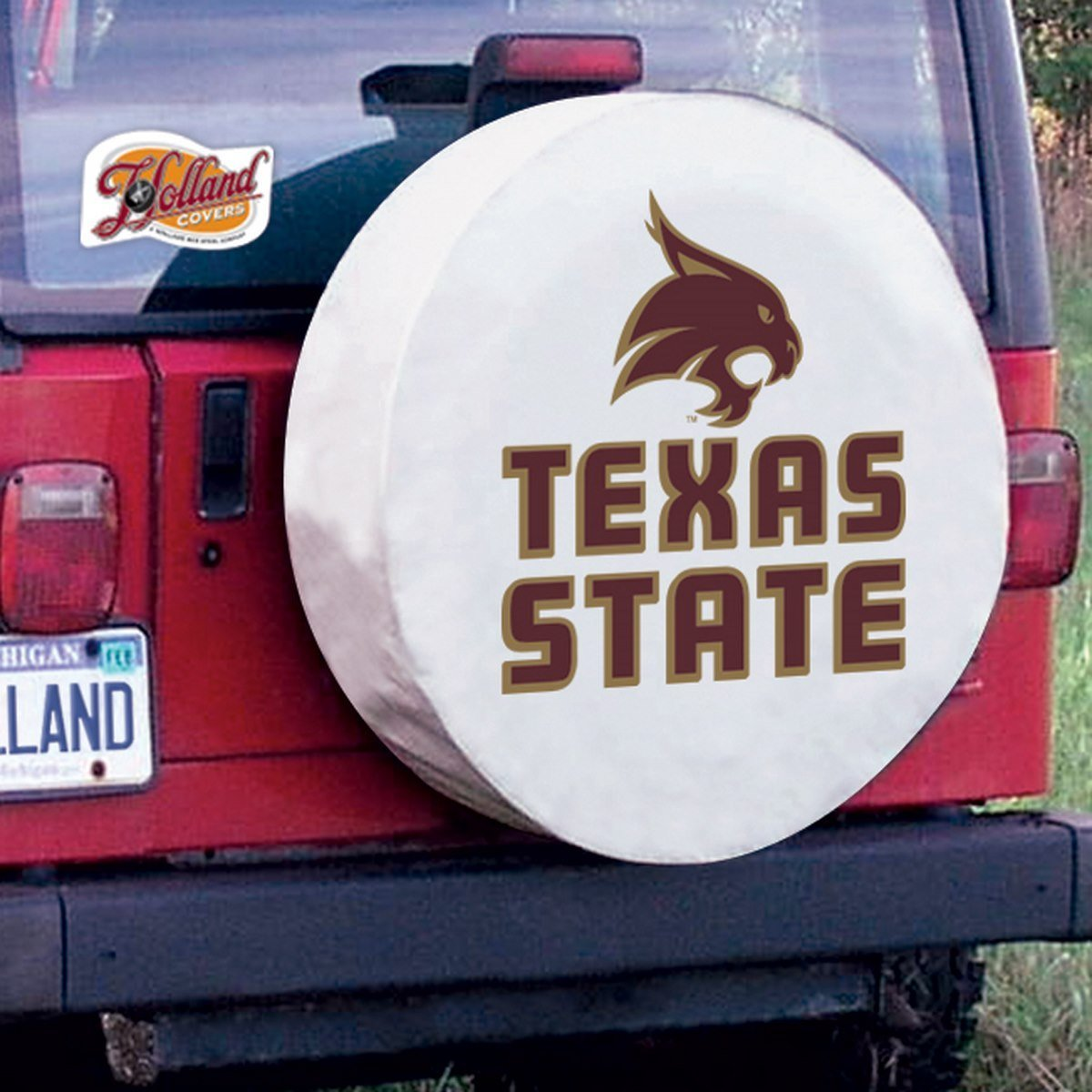 Texas State Bobcats College Spare Tire Cover