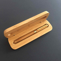 Elegance Square Wood Box Design Pen Container, Wood Pen Box Wholesale