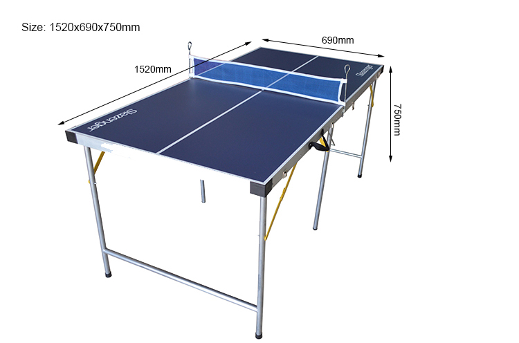SZX 4.5ft  popular indoor foldable mini table tennis for kids china