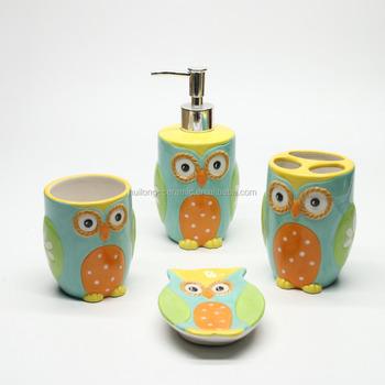 https://sc02.alicdn.com/kf/HTB1kS8EifxNTKJjy0Fjq6x6yVXaW/Wholesale-ceramic-owl-bathroom-set-of-4.jpg_350x350.jpg