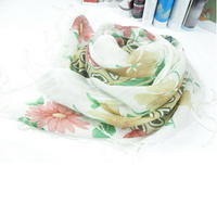 Female Scarves Long Beach Shawls Fashion Blouse Printed Pattern
