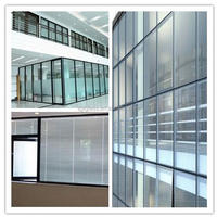Glass factory ! laminated glass thickness 5+1.14PVB+5mm double pane