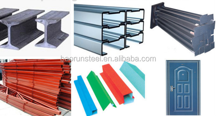 2015 Baorun prefabricated steel structure for car parking workshop for sale