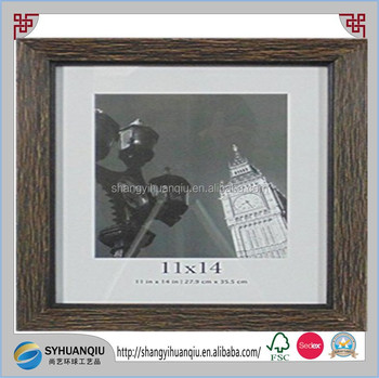 Main Street Decor Wire Brushed Photo Frame11 By 14black