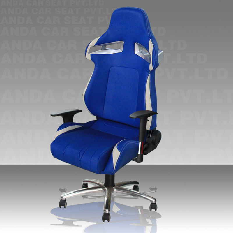 High Back Office Chair Reclining With Footrest
