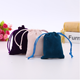 Eco-friendly custom Velvet drawstring pouch jewelry gift bag