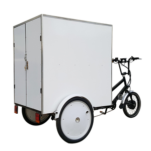 Three Wheeler 500W Battery Operated Heavy Duty Truck Cargo Deliver Tricycle