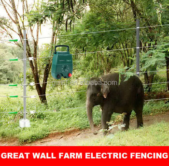 2014 Powerful Portable Farm Electric Fence Energiser