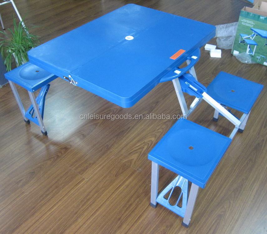 En plastique pas cher camping mis la table de pique nique table pliante id de produit - Table de camping pas cher ...