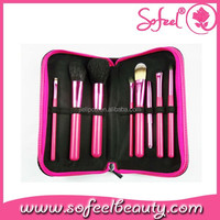 high quality cosmetic brush kits synthetic hair artist paint brush set