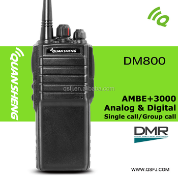 long distance DMR digital two way radio with PTT-ID VOX TG-DM800