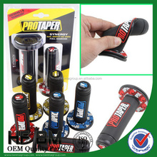 Soft Rubber Motorcycle Hand Bars Grip PRO TAPER Handle Grips