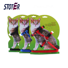 cat pet dog harness lead leash set