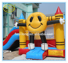 PVC 0.55mm Colorful Commercial Inflatable Combo Bounce House,Inflatable bounce castle