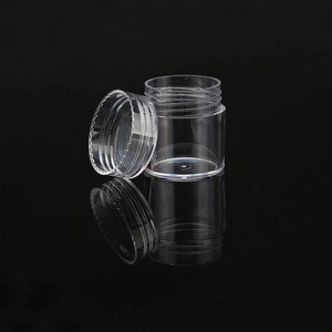 Creative 6g Round Base Customized Transparent Cream Cosmetic Dispensing Bottle