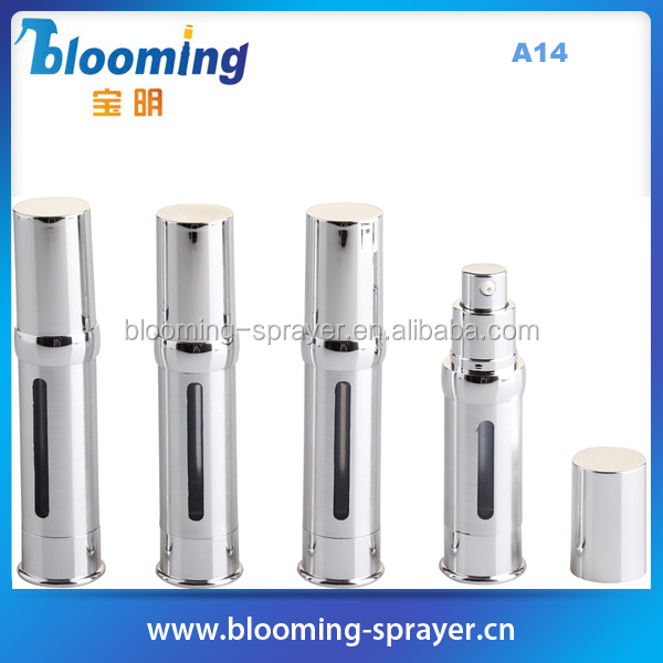 airless cosmetic bottle acrylic, 50ml cosmetic bottle with sprayer