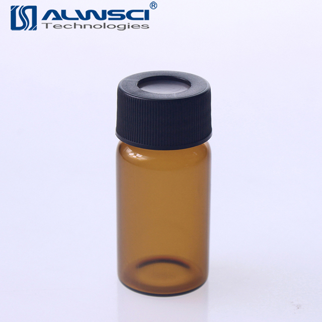 Borosilicate Glass 20mL EPA VOA Vial with Autoclavable Cap Amber