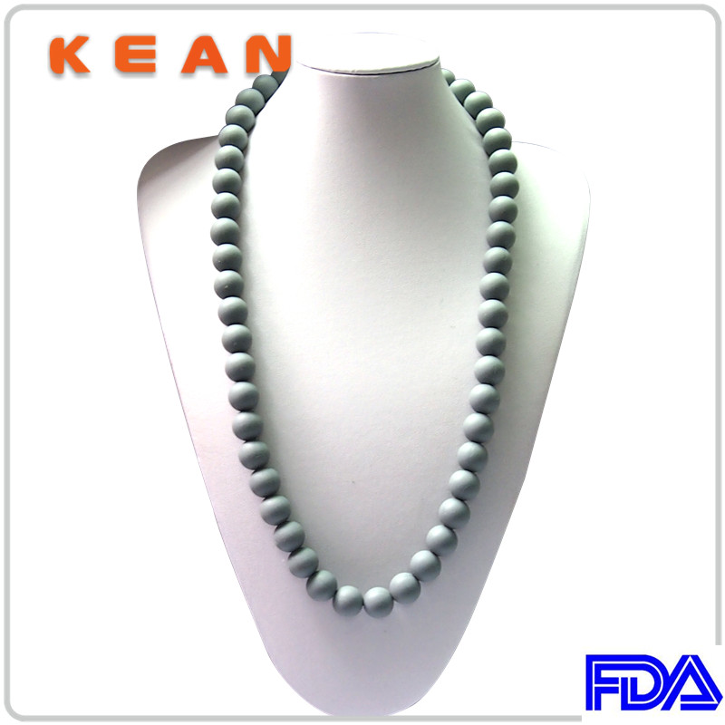 BPA Free New Design High Quality Magnetic Silicone Necklace/Teething Necklace