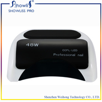 48W LED Nail Dryer CCFL UV Lamp Nail Manicure Machine Fast Drying Fingernail&Toenail Gel Polish Curing Nail Art Tools