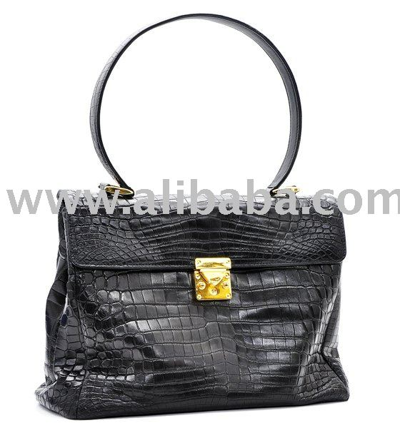 Genuine Crocodile Skin Handbag - Spring / Summer 2010 Collection