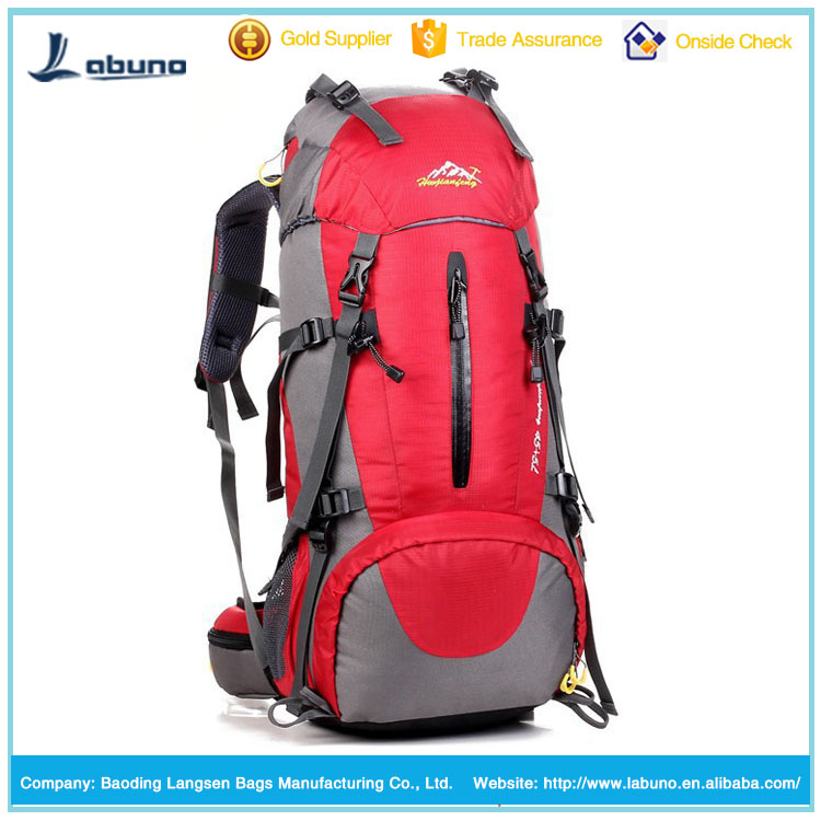 50L large capacity backpack mountaineering backpack outdoor hiking backpack
