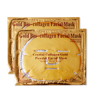 Firming Tightening Pure 24k Gold crystal Collagen Face Mask