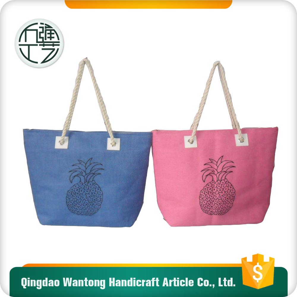 Пляжная сумка на пуговице