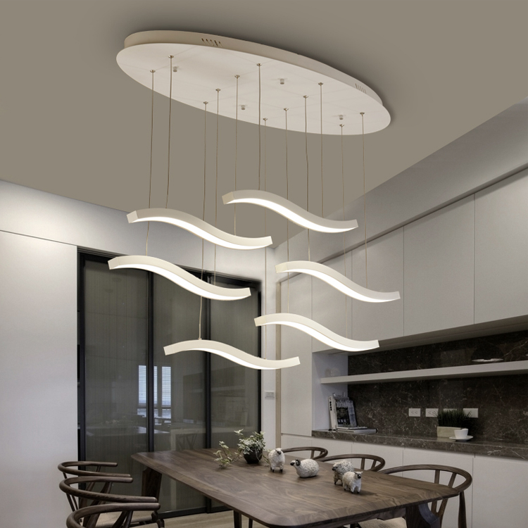 Top quality Nordic sample acrylic led lighting dimmable led pendant lights