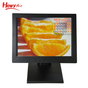 "Wide Viewing Angle 10"" 12"" 15"" 17"" 19"" 21.5"" 23.6"" 24"" 32"" 10 Points Capacitive Touch Screen Monitor"