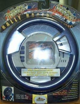 Game Boy Advance Rally Racer Racing Wheel