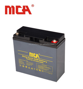 High quality 12v lead acid solar deep cycle mca 48v 20ah