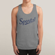 Guangdong service fitness clothing tank top Grey Tri blend men gym tank top