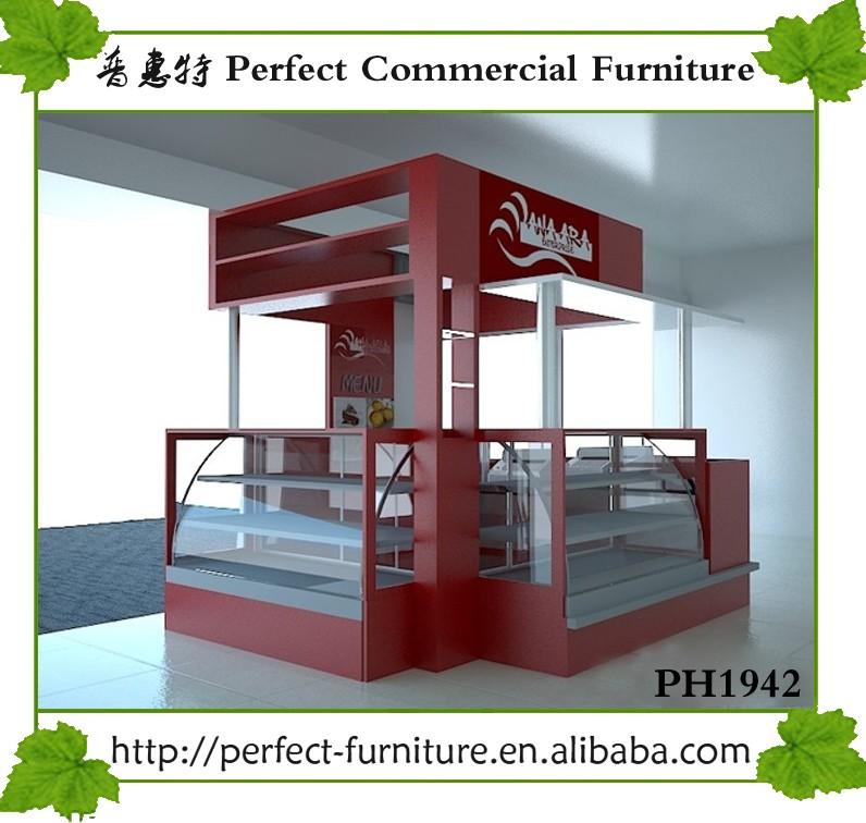 Burger Kiosk Restaurant Equipment Fast Food Stall Shop Counter ...