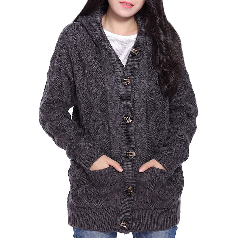 Cheap Hooded Cable Cardigan, find Hooded Cable Cardigan deals on ...