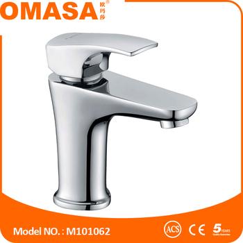 Zink Handle Brass Faucet Basin Mixer Tap Bathroom Unique Fittings Sink Taps