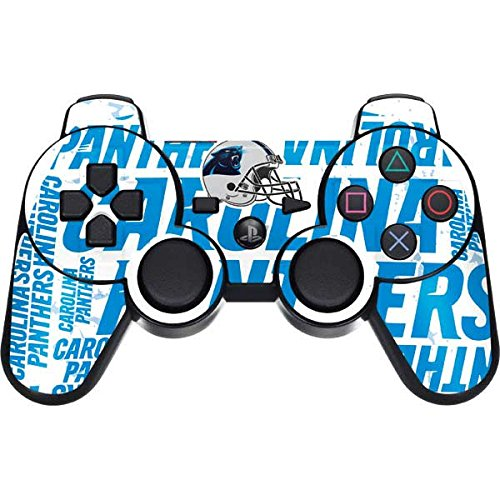 Skinit Carolina Panthers PS3 Dual Shock wireless controller Skin - Carolina Panthers - Blast | NFL Skin