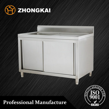 Outdoor Kitchen Stainless Steel Sink Work Table 1 Sink With Sliding Doors 32 Kg L 1500 W 700 Buy Sink Work Table Stainless Steel Sink Work