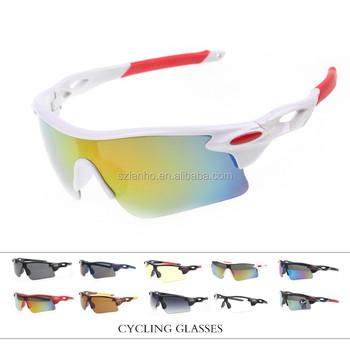 2016 Pria Wanita Bersepeda Kacamata UV400 Olahraga Kacamata Sepeda Gunung  Tahan Angin Sepeda Motor Kacamata Sunglasses 7607d779da